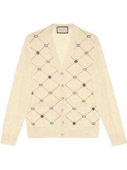Gucci кардиган с монограммой 597741XKA4I