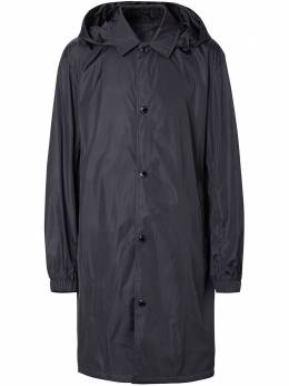 Burberry пальто со съемным капюшоном 8022331