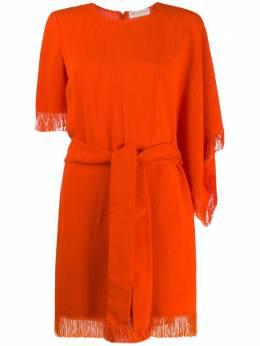 Emilio Pucci платье с бахромой 0HRG810H674