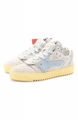 Замшевые кеды Off-Court 3.0 Off-White 0WIA181S20LEA0020505