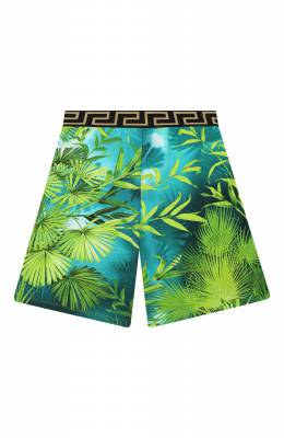 Хлопковые шорты Versace YD000305/A235480/8A-14A