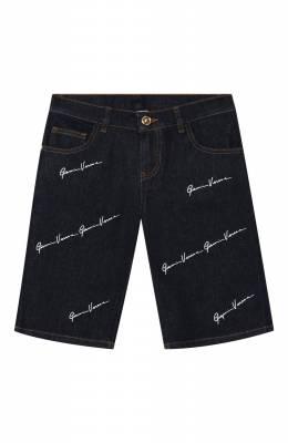Джинсовые шорты Versace YD000183/A233592/8A-14A