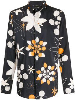 Fendi рубашка с принтом Kaleido FS0808ABL4