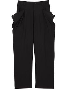 Burberry брюки с заклепками 4563480