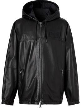 Burberry двусторонняя куртка с капюшоном 8025843