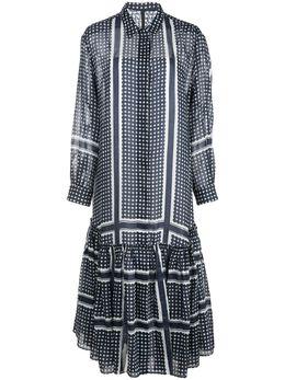 Sara Lanzi платье-рубашка свободного кроя 03ERA108