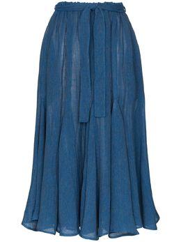 Lisa Marie Fernandez юбка миди Marguerite 2020RES332MBOG