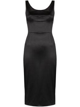 Dolce&Gabbana приталенное платье миди Duchess F6G4PTFURHH