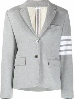 Thom Browne пиджак с полосками 4-Bar FBC647A00535