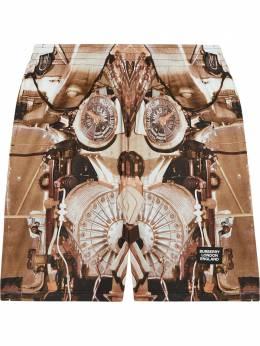 Burberry шорты с принтом 8024634
