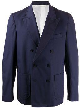 Maison Flaneur двубортный пиджак 20SMUJA500TC127
