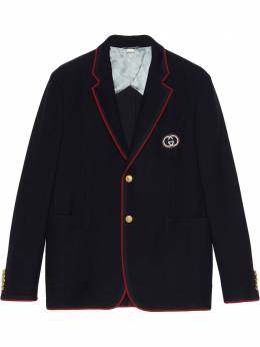 Gucci однобортный пиджак Palma 590578ZAC3R