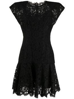 Dolce&Gabbana кружевное платье мини F6H9DTFLM9V