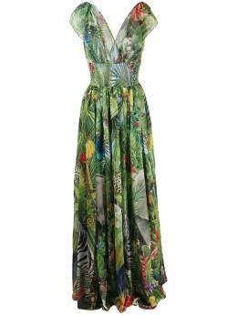 Dolce&Gabbana платье макси с принтом F6J1PTFI1UO