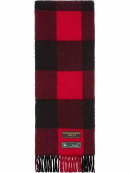 Gucci шарф в клетку 5975454GA30