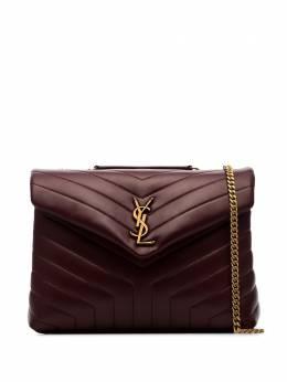 Saint Laurent стеганая сумка на плечо Loulou среднего размера 574946DV727