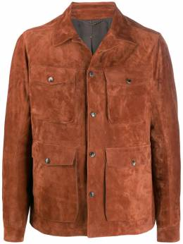 Ajmone фактурная куртка на кнопках SFX