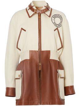 Burberry куртка с графичным логотипом 4564444