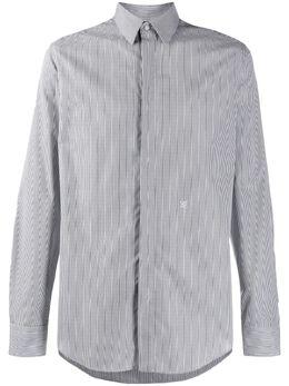 Fendi рубашка в тонкую полоску FS0808AAPH