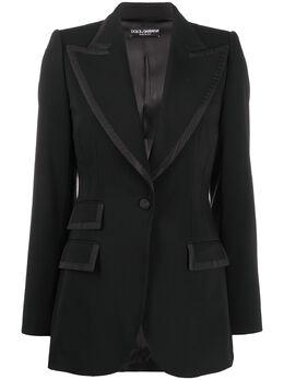 Dolce&Gabbana пиджак с заостренными лацканами F29EFTFUCC6
