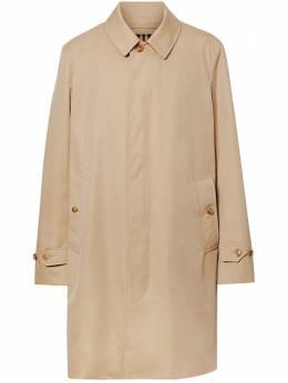 Burberry габардиновое пальто 8019047