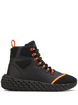 Giuseppe Zanotti Design фактурные кроссовки на массивной подошве RW90060002