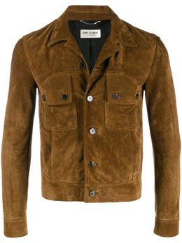 Saint Laurent куртка на пуговицах 596476YC2AY
