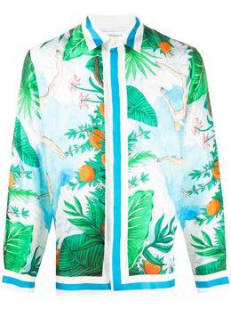 Casablanca рубашка с принтом MS20SH001