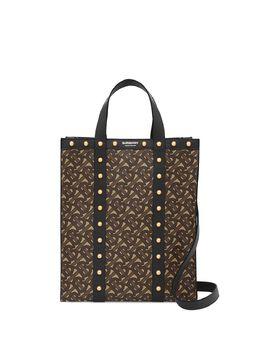 Burberry маленькая сумка-тоут Portrait с монограммой 8025068