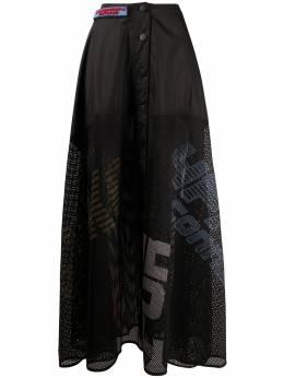 Faith Connexion сетчатая юбка макси W1420TSHK03