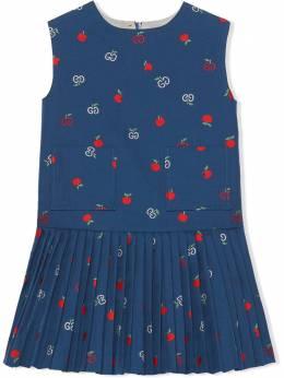 Gucci Kids платье без рукавов с узором GG 596107XWAH3