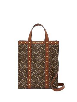 Burberry маленькая сумка-тоут с узором Monogram 8025076