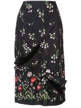 Marques'Almeida floral print skirt RST18SK0049SHM