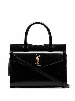 Saint Laurent сумка-тоут Uptown среднего размера 55765303P0J