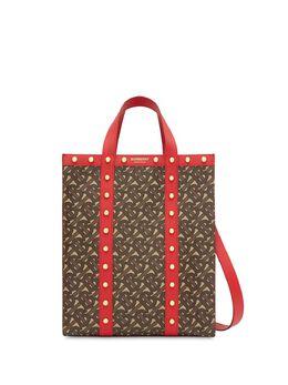 Burberry сумка-тоут с монограммой 8025077