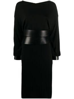 Tom Ford платье миди с поясом ABJ382FAX613
