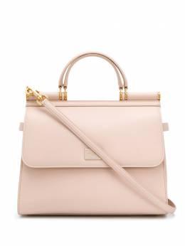 Dolce&Gabbana большая сумка-тоут Sicily 58 BB6621AV385