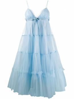 Brognano платье миди из тюля 28BR1A10204254