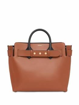 Burberry поясная сумка среднего размера с заклепками 8015900