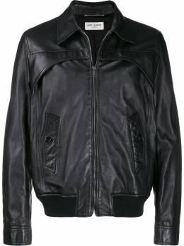 Saint Laurent куртка на молнии 578671YC2OC