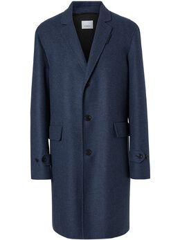 Burberry пальто строгого кроя 8018855