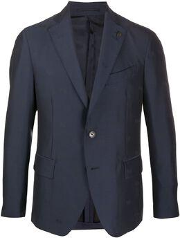 Gabriele Pasini пиджак с принтом G15065GP15436