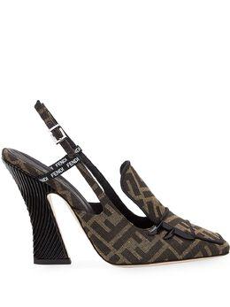 Fendi туфли-лодочки FFreedom с ремешком на пятке 8J6938A84H
