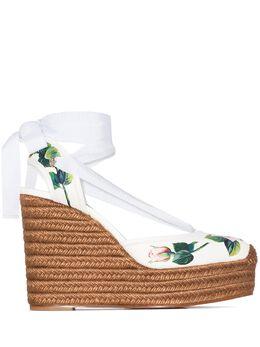Dolce&Gabbana эспадрильи с цветочным принтом CZ0230AX365