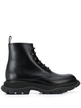 Alexander McQueen ботинки на массивной подошве в стиле милитари 604250WHXH0