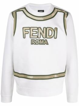 Fendi толстовка с логотипом FY0178ABP5