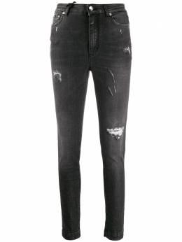 Dolce&Gabbana джинсы кроя слим с эффектом потертости FTAH6DG899D
