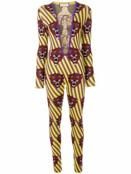 Gucci комбинезон с изображением тигров 490375X9G27