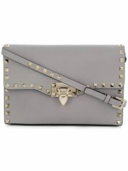 Valentino Garavani маленькая сумка через плечо с отделкой Rockstud QW1B0181VSH