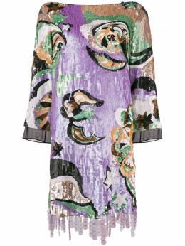 Emilio Pucci sequined mini dress 8RRG458R957